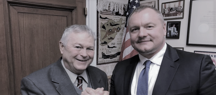 Dana Rohrabacher and Andrey Artemenko